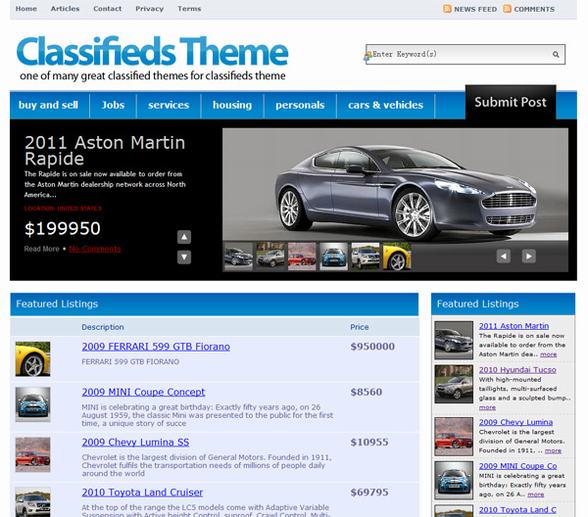 Classifieds PremiumPress