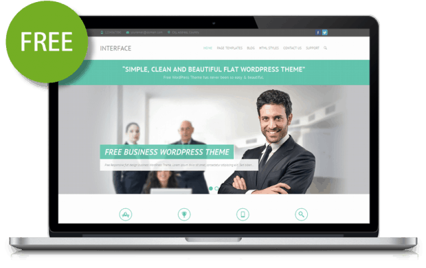 interface-free-flat-responsive-business-theme