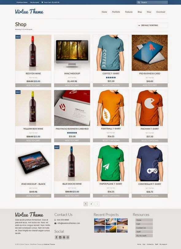 Virtue-Theme-e-commerce