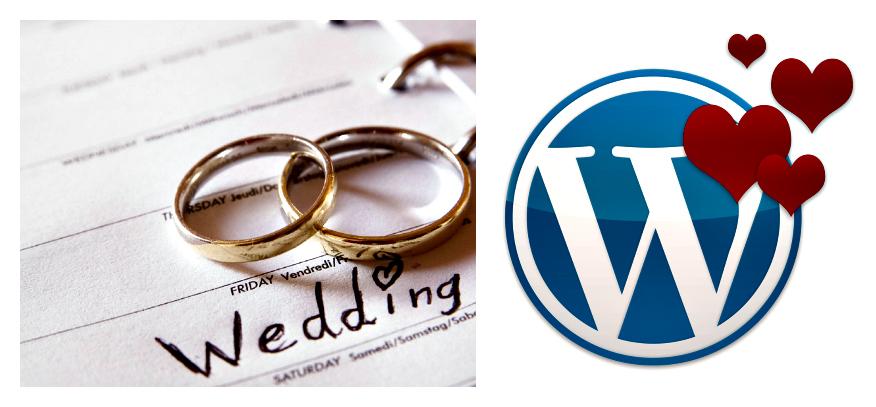 WordPress Wedding Theme 2015
