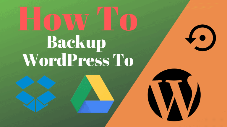 how to backup wordpress